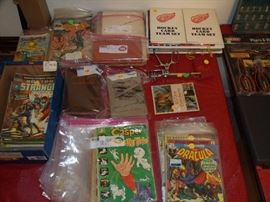 Old Comic Books, a Vintage Surgical Tool and a Sears Catalog from the 1930's