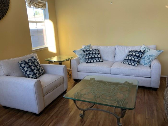 Two Sofas and Two coffee tables: $800 for all