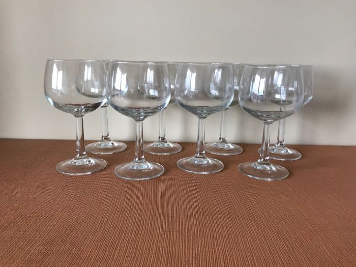 Some of the many glasses available