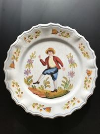 Antique Italian Country plate