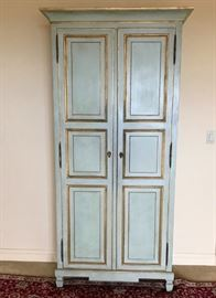 Painted & Gilded Armoire