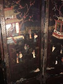 Detail of 18th Century Chinese Screen