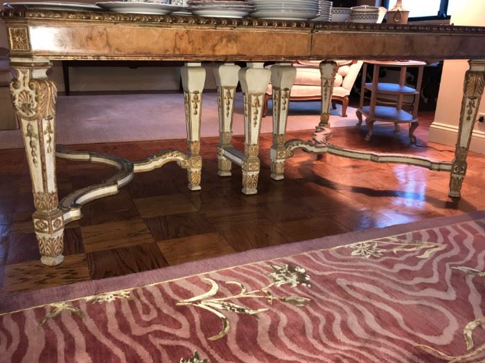 Beautiful detail of Dining Table