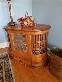 Merrick Spool cabinet.