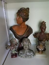 Art Nouveau figures.