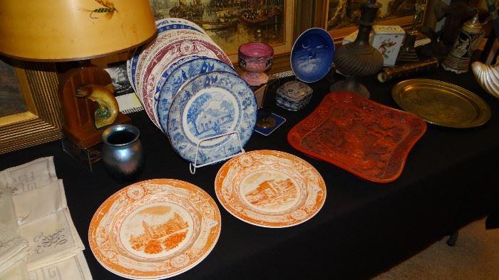 University of Texas Plates & Texas Centennial Plates