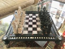 """Harry Potter Chess Board, """"The Final Challenge"""", 20""""x20"""" board."""