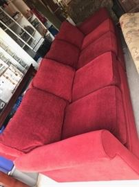 Crate and Barrel grand sofa 10' long  Down cushions.
