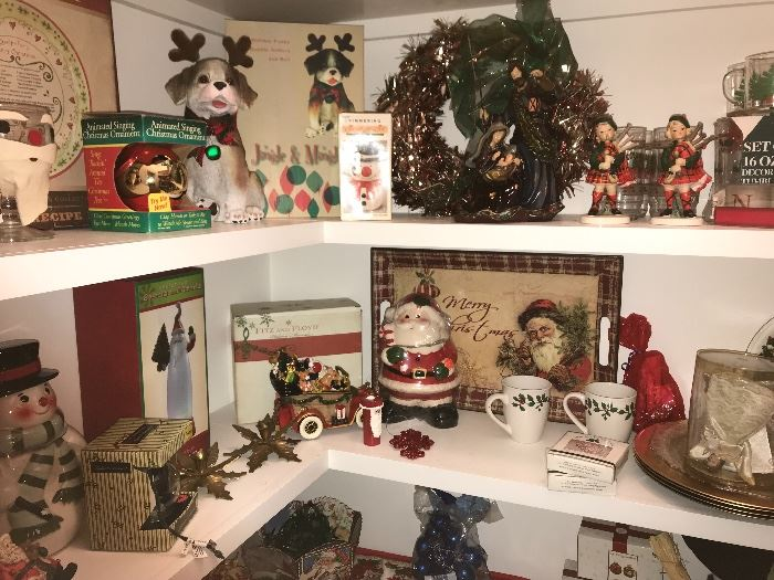 from  a magical pup to a Santa Cookie jar along side Holiday china and snowmen that are ready to decorate your home, there is an abundance of price to sell items