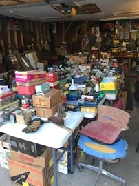 WOW, lots of digging, there is a ton of smalls of all different collections