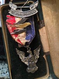 Dieges & Clust Eagle Medal