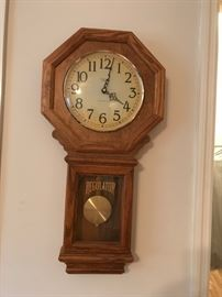 #20Westminister Chime Regulator Wall Clock $40.00
