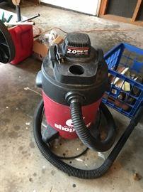 #52Shop vac, 2.6 gallon  $10.00
