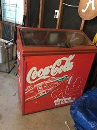 #54Coca-Cola machine, model RPUC-100, as-is $300.00