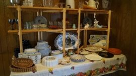 Dansk dishes, coffee pot, kitchen and dining