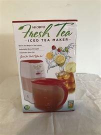 Mr. Coffee Iced Tea maker.  New in box.