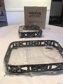 Two Southern Living casserole caddies  NEW