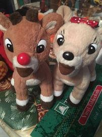 Newer & vintage Christmas decorations