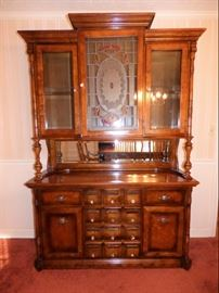 "Pulaski ""Apothecary"" Cabinet (Part of Dining Room Suite)"