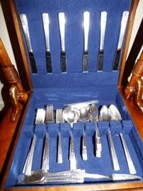 Antique Silverplate  set