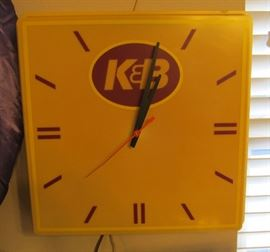Genuine K & B Drugstore Clock Works