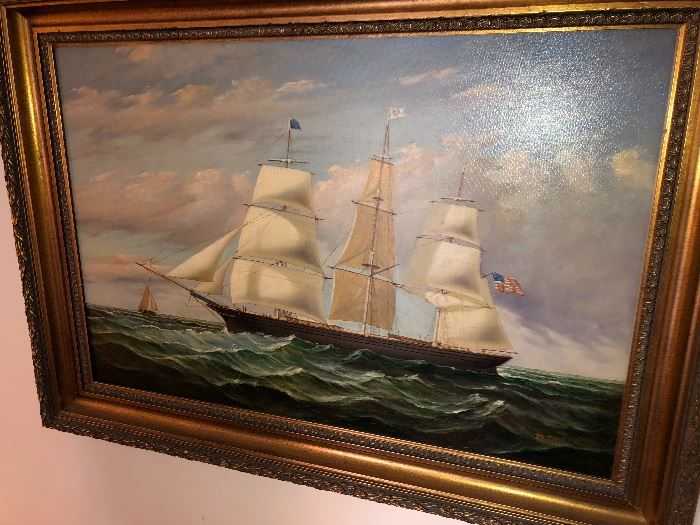 D. Tayler Oil Painting Original