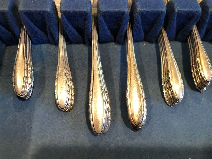 Vintage Gorham Sterling Silver Place Settings for