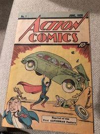 1976 reprint Superman #1
