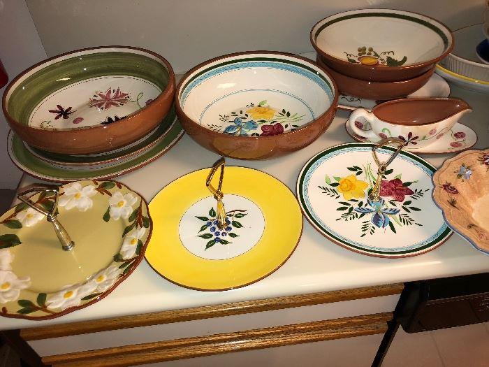 Stengl Dinnerware many pieces