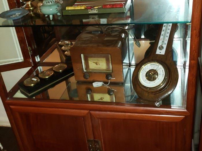 Barometers & Radios