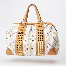 10: LOUIS VUITTON MULTICOLORE COURTNEY GM HANDBAG