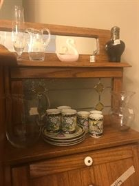 Items with display cabinet