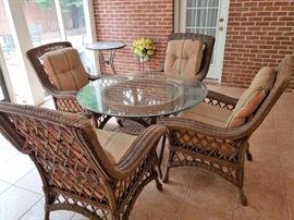Beautiful Heavy Wicker Patio Furniture