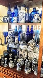 Blue Cobalt decorative pieces