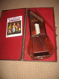 Auto Harp with case & book $75