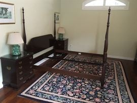 Ethan Allen king headboard and frame