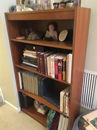 Book case. Large assortment of books