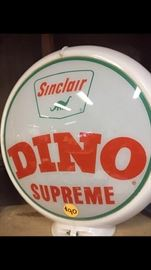 "Vintage ""Sinclair"" gas pump topper"