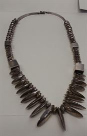 Antique Navajo Sterling necklace