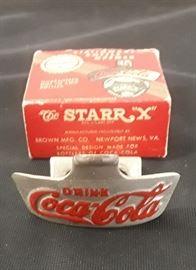 Vtg. COKE bottle opener with original box