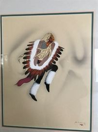 Signed American Indian Art