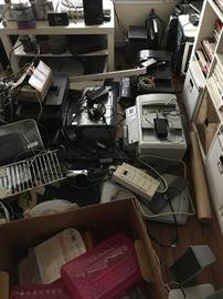 Lots of printers, etc