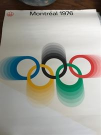 Complete set of 1976 Montreal Olympics Posters