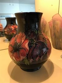 "Fantastic 12"" Moorcroft Vase - Anemone- RARE RARE especially in minty condition"