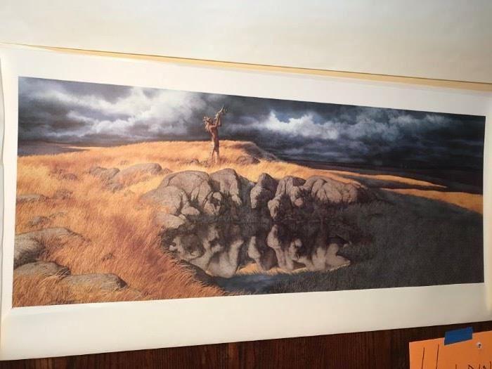 Bev Doolittle- Calling the Buffaloe