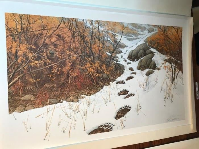 Bev Doolittle- Doubled Back- Out of print for 20 years
