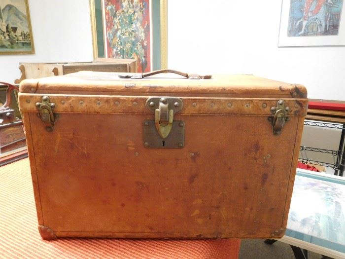 Louis Vuitton Trunk Circa 1915