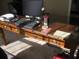 Front of Hooker desk