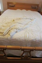 Huntley Bed with Queen Mattress