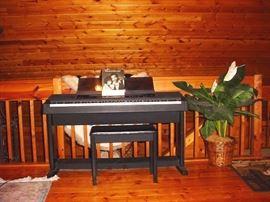HOUSE INTERIORLOFT PIANO